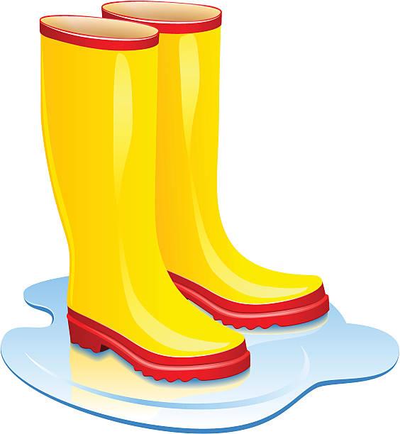 564x612 Boots Clipart Wet