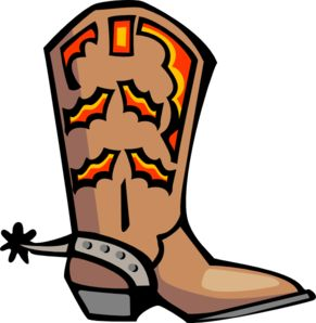291x298 Boot Clip Art