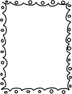 236x307 Squiggle Border Clip Art (23+)