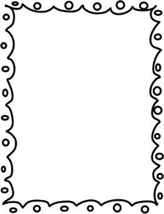 236x307 clip art black and white borders