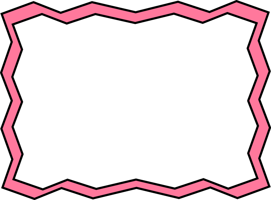 871x645 Pink Border Clipart