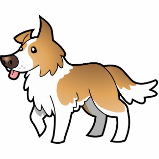 324x324 Border Collie Clipart Red