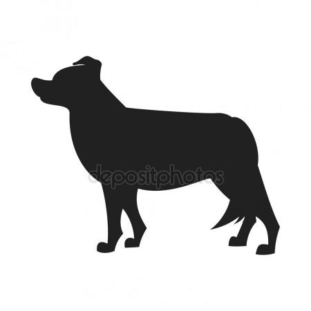450x450 Border Collie Icon Stock Vectors, Royalty Free Border Collie Icon