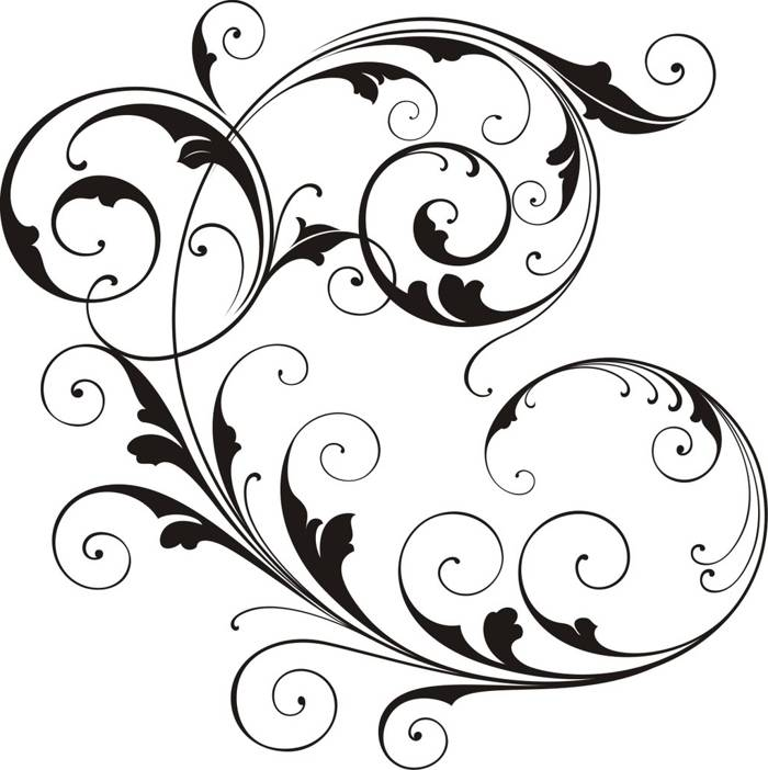 Border Design Black And White Clipart   Free download on ...