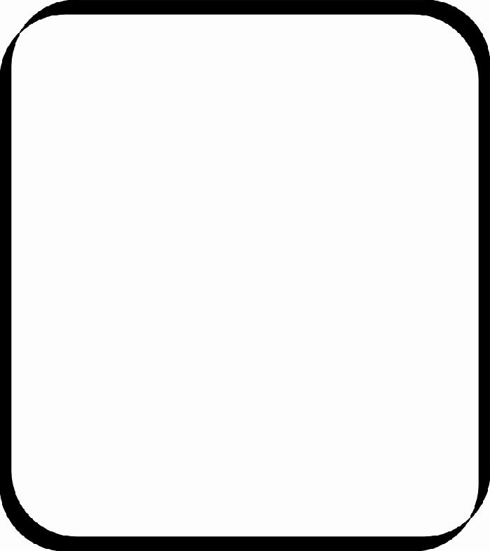 700x786 Clip Art Square Frame Clipart