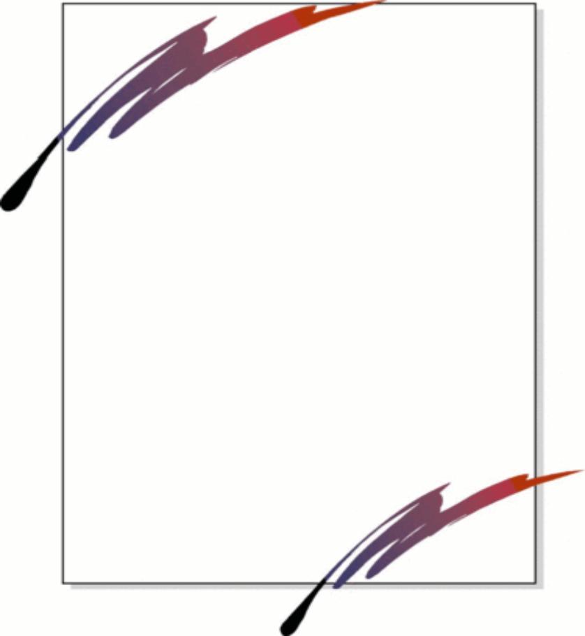 838x911 Pen clipart border