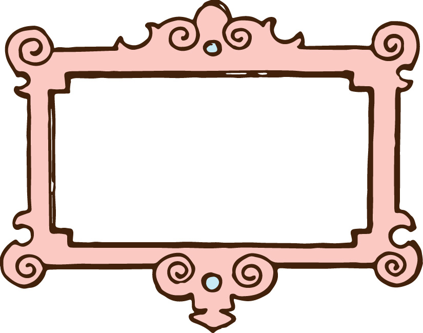 825x649 Vgosn Vintage Frame Border Clipart Colored 2 Perfectly Printable
