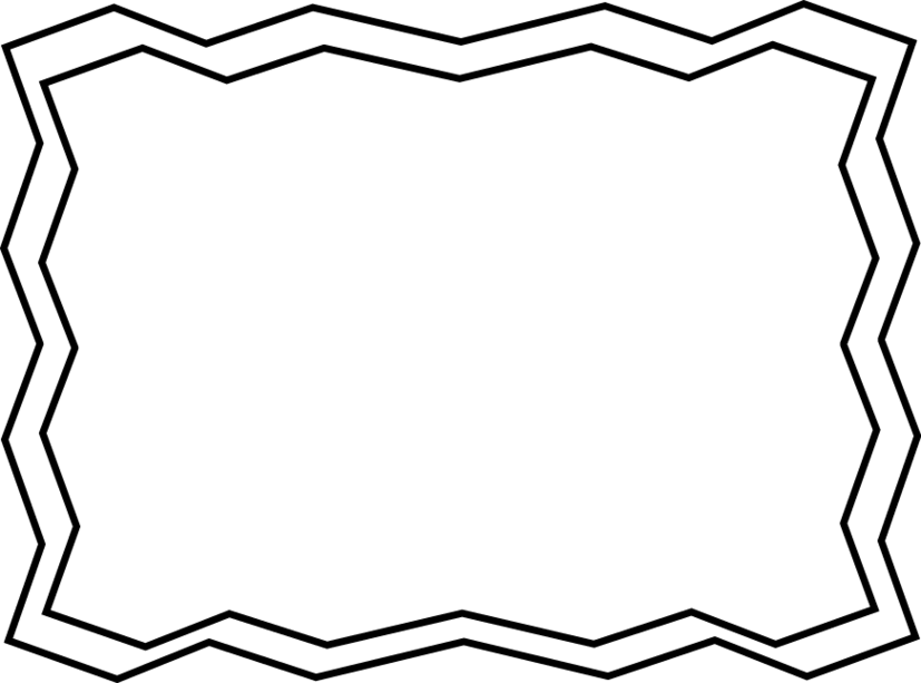 827x613 School Border Clipart Black And White 4