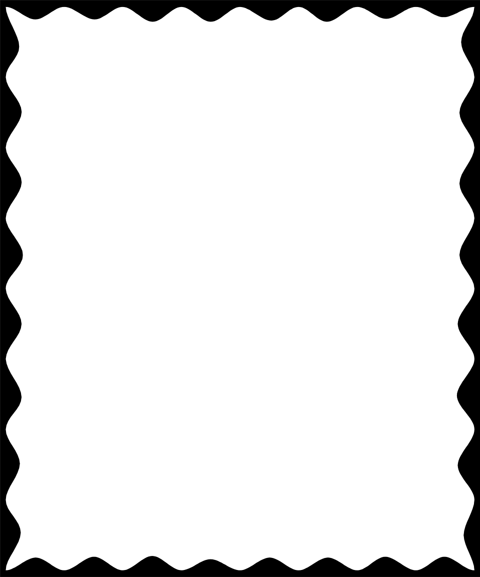 958x1151 Black Business Border Clipart