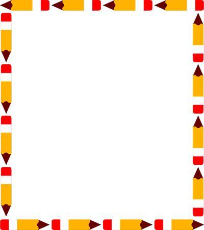400x451 School Border Clip Art