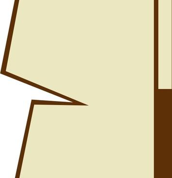 355x368 Black white border line clip art free vector download (214,764