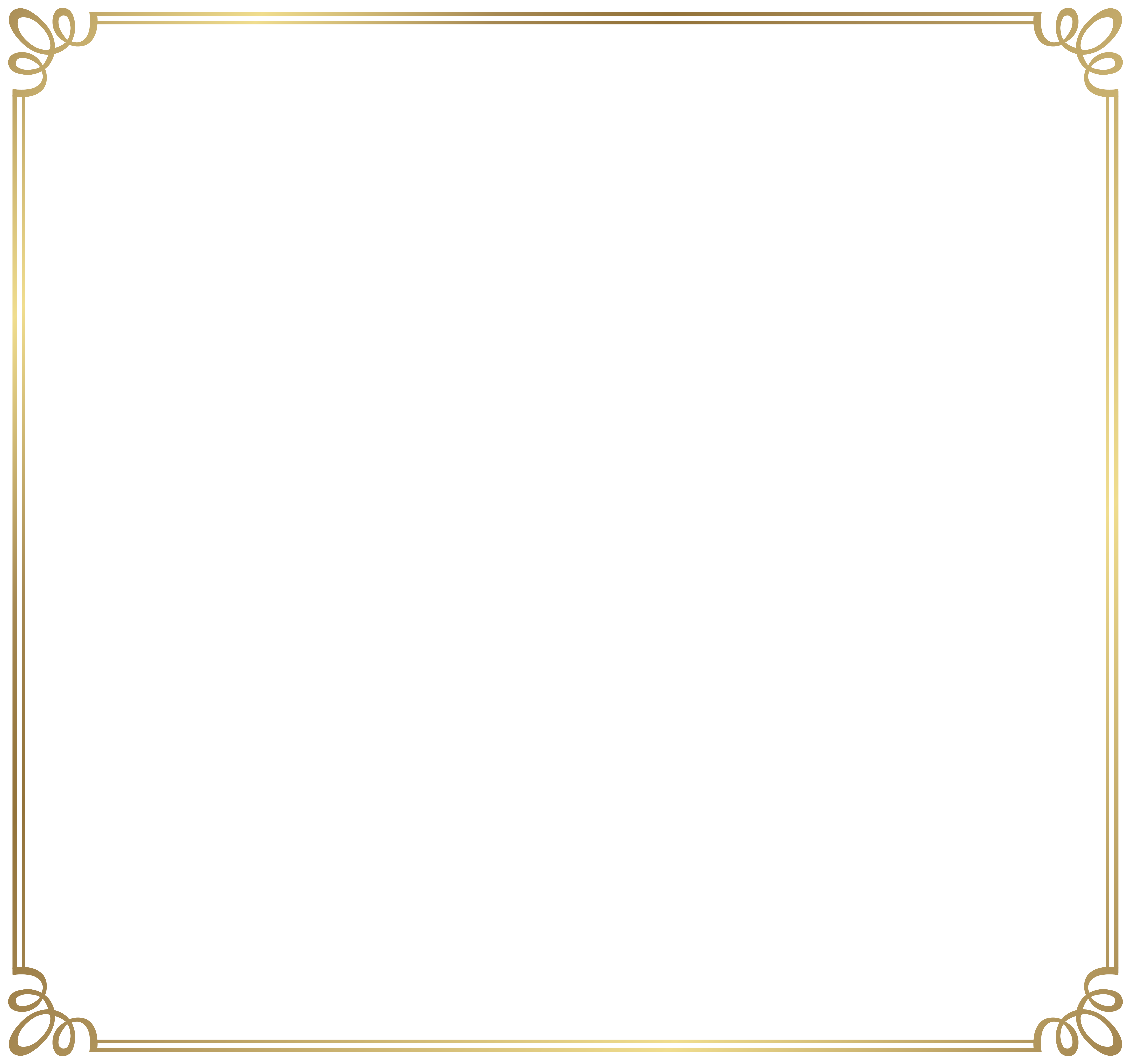 6204x5835 Decorative Frame Border Png Clipart Imageu200b Gallery Yopriceville