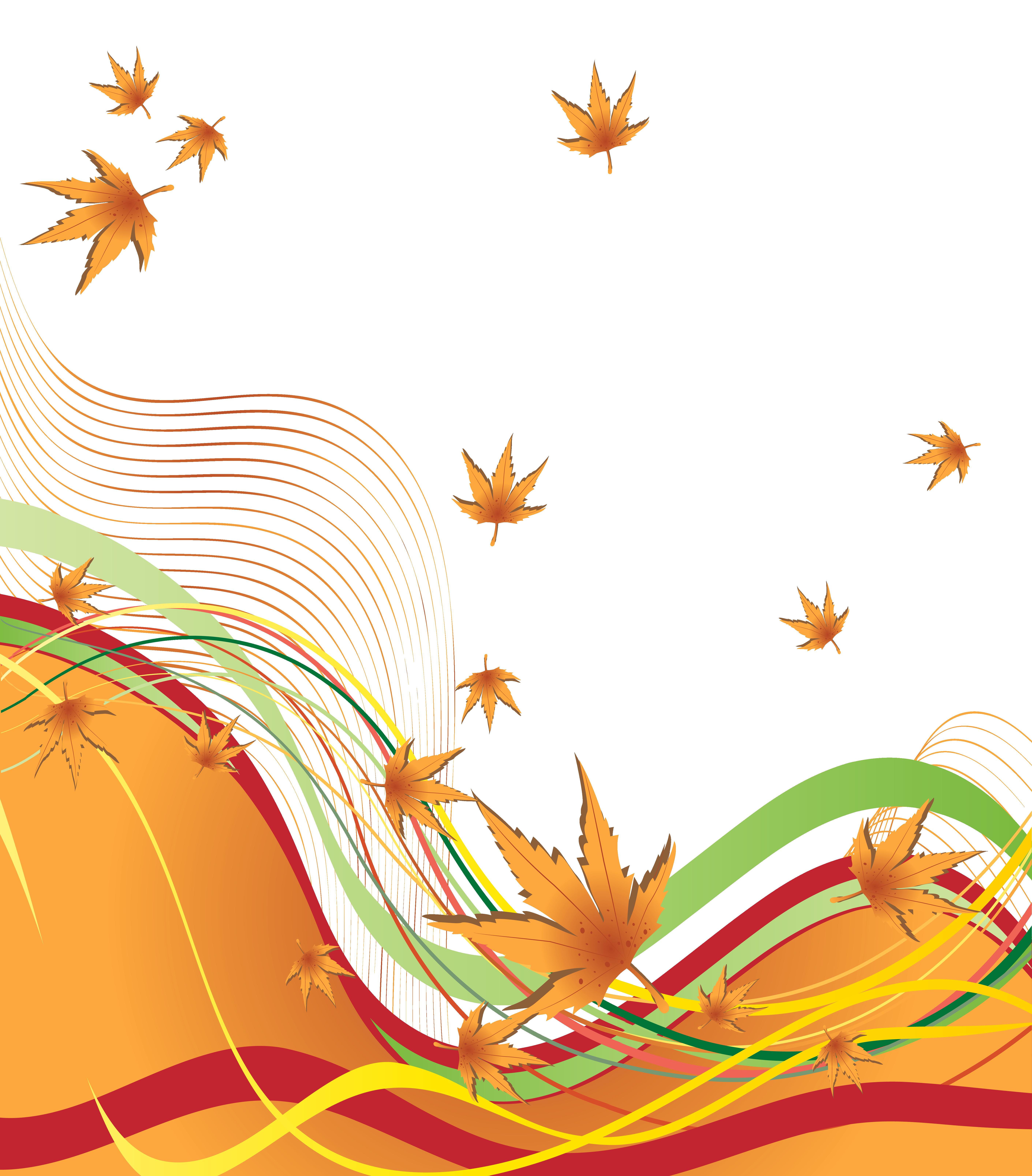 5639x6428 Autumn Decorative Border Png Clipart Imageu200b Gallery Yopriceville