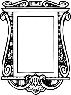 236x314 Royalty Free Clipart Fancy Vintage Borders