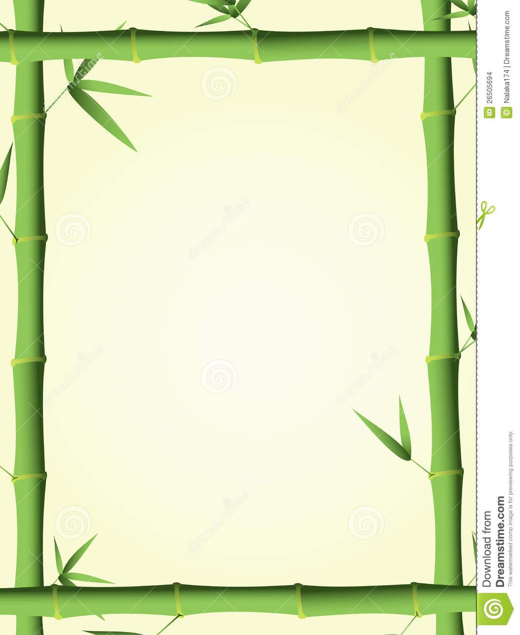 1065x1300 Bamboo Clipart Bamboo Frame