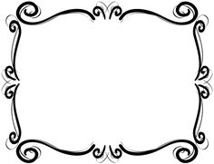 236x181 Free Vintage Clip Art Images Calligraphic Frames And Borders