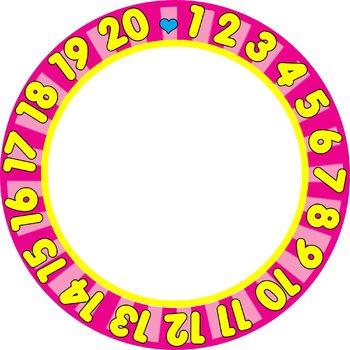 350x350 Borders Frames123 Numbers Border Frame Clip Art Set Tpt