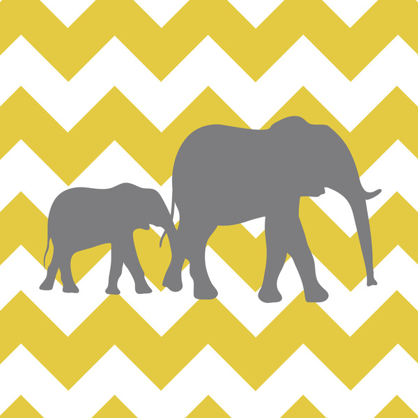 600x600 Yellow And Gray Chevron Border Clip Art Clipart