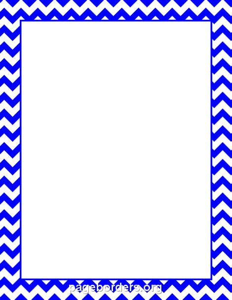 470x608 Blue Chevron Border Clip Art, Page Border, And Vector Graphics
