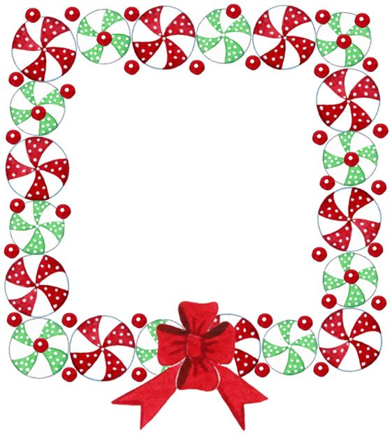 558x621 Christmas Frame Border Christmas