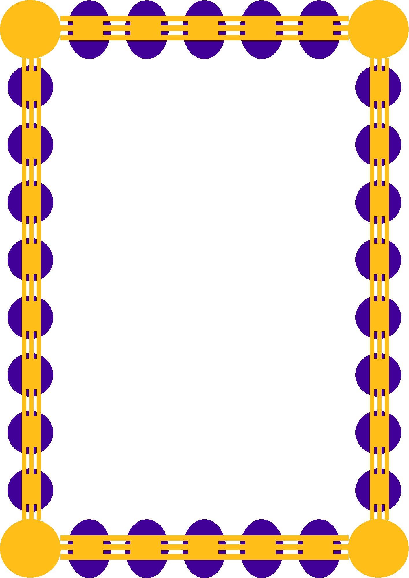 1414x2000 Border Frames Clip Art Clipart