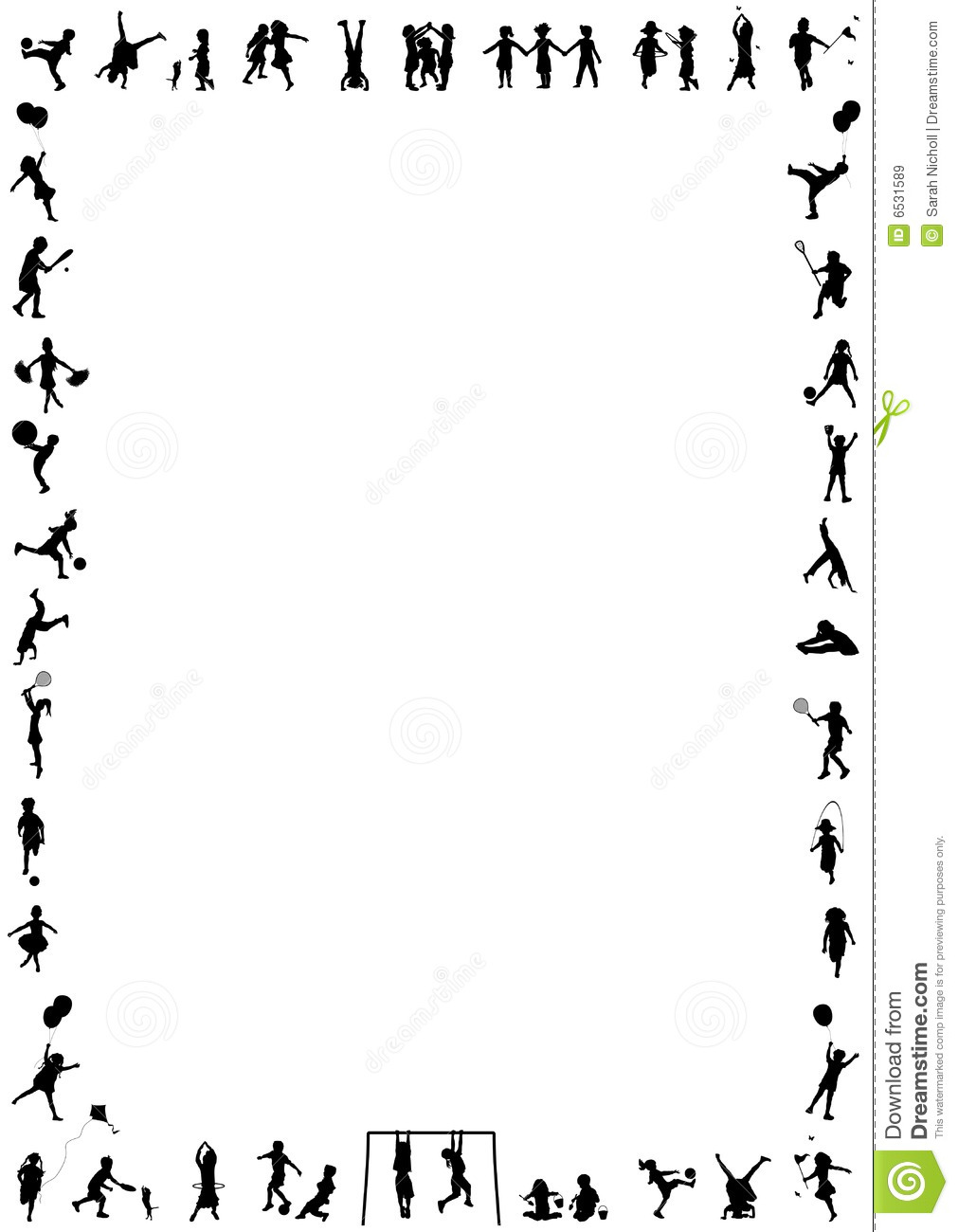 1011x1300 Fitness Borders Clipart