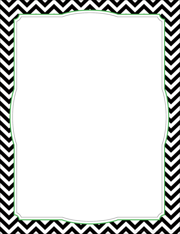 1159x1500 Black Dot Borders Clipart