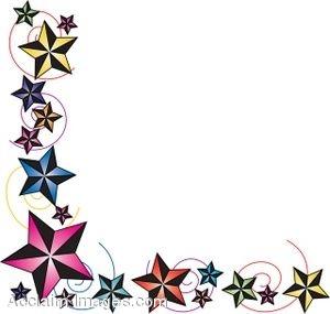 300x285 Free Clip Art Borders Stars Clipart Panda