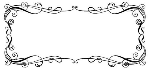 500x234 Free Wedding Border Clipart