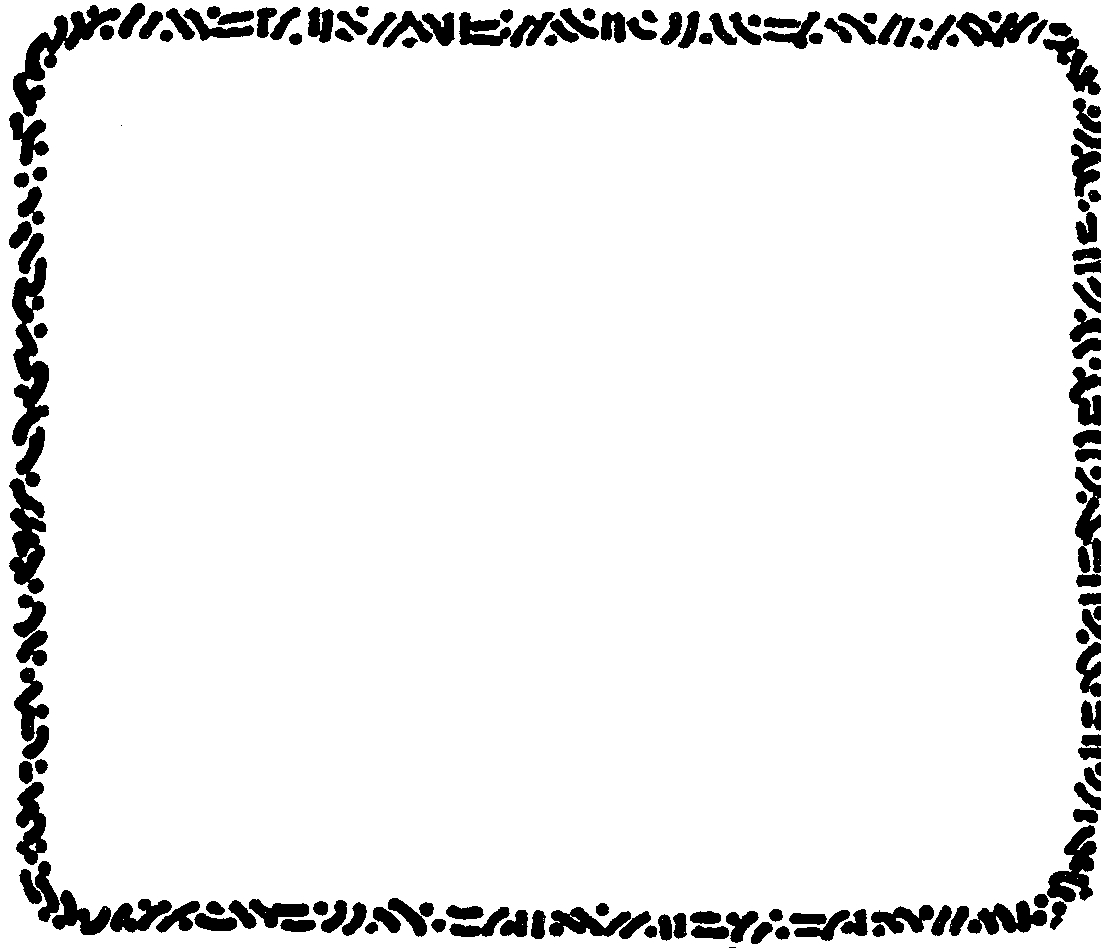 1101x949 And White Page Borders Clipart