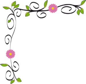 298x291 Flower Border Hawaiian Flower Clip Art Borders Free Clipart Images