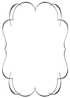 236x328 Elegant Frame Clip Art