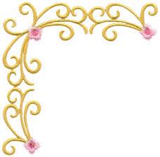 227x222 Flower Borders Clip Art Free