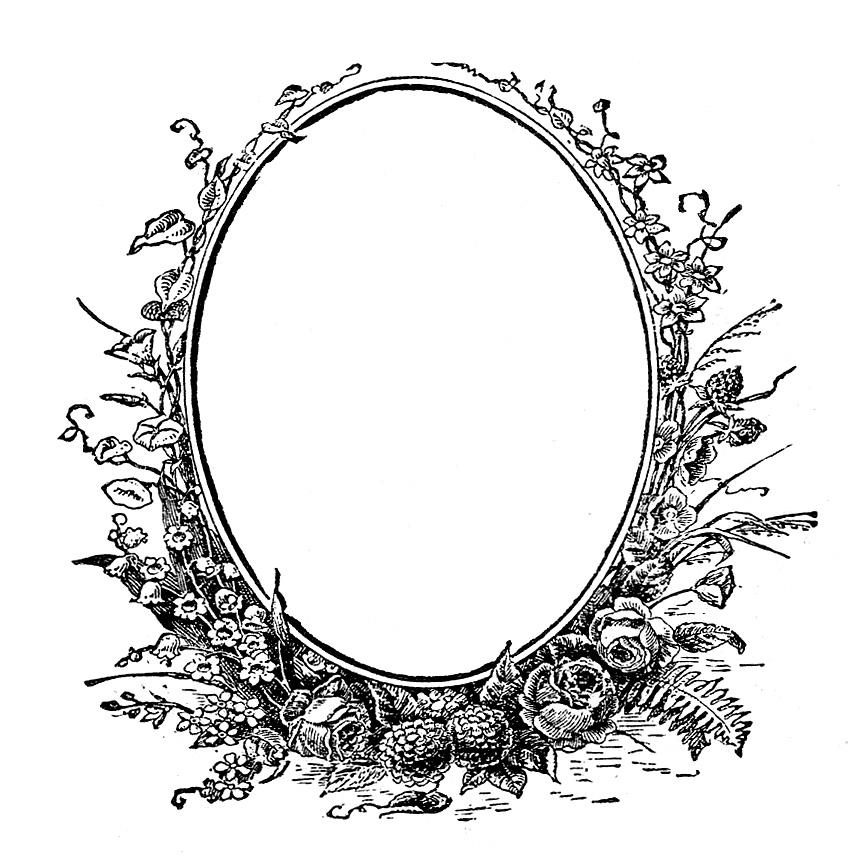 848x860 Antique Ephemera Clip Art