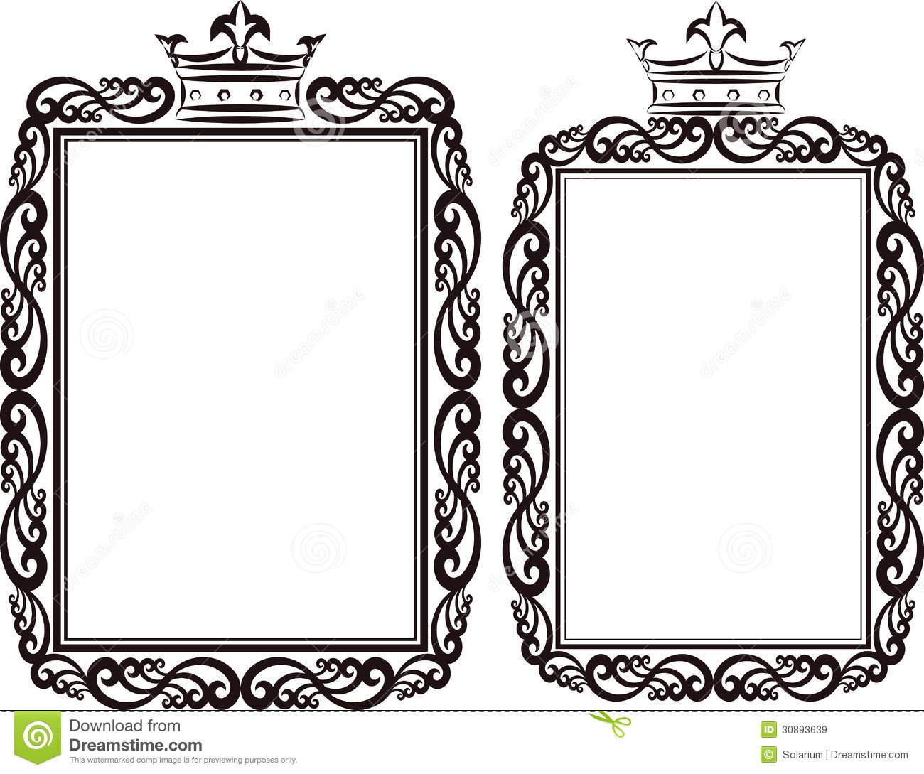 1300x1089 Tiara Border Clip Art