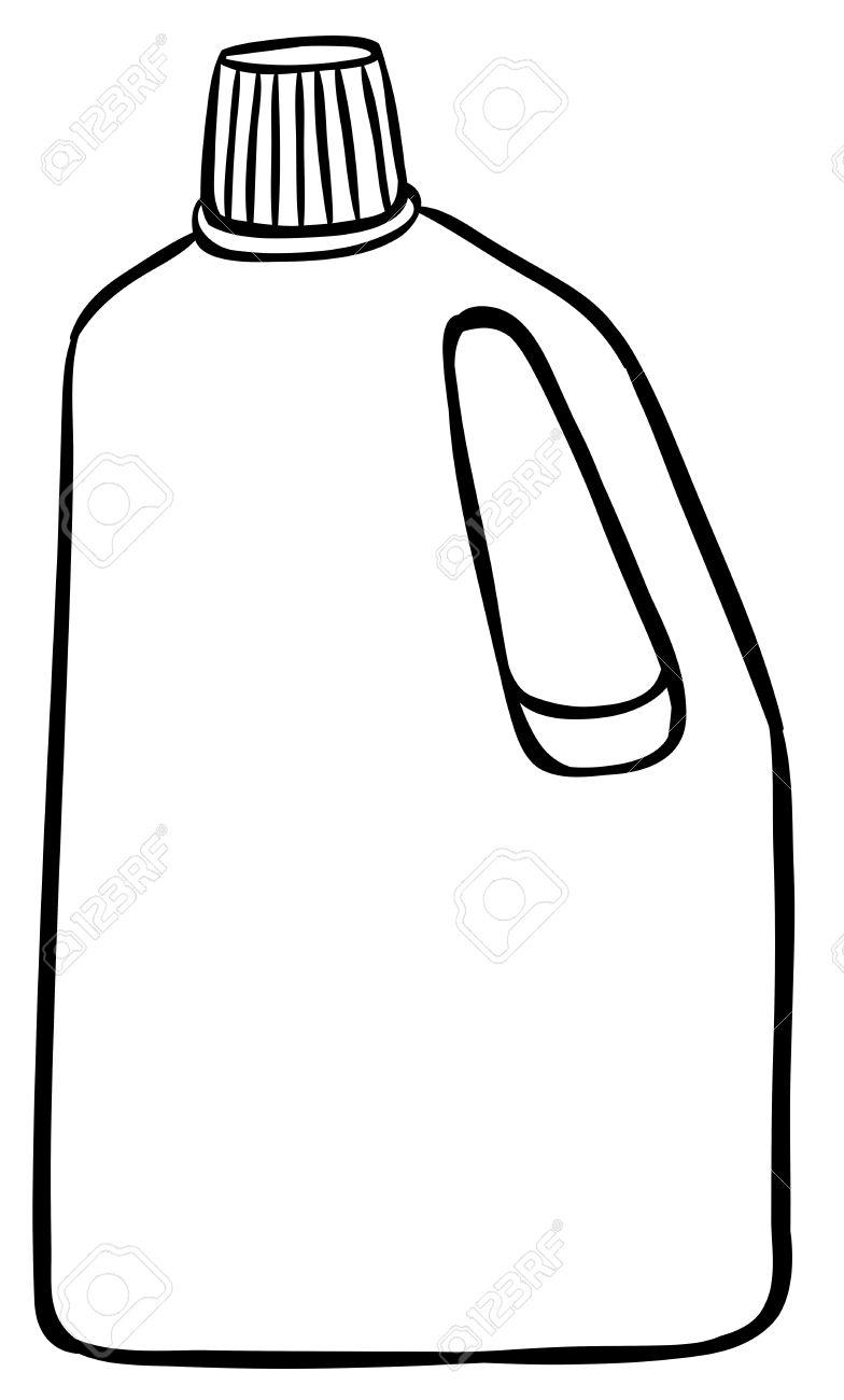 784x1300 Bottle Clipart Simple