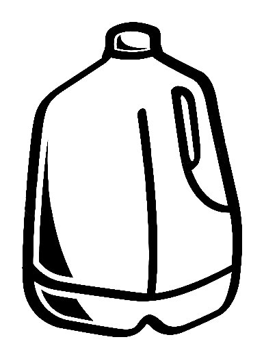 386x524 Clip Art Milk 1 2 Gallon Clipart Kid