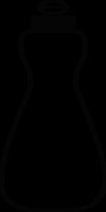 150x300 Dish Soap Bottle Outline Clip Art