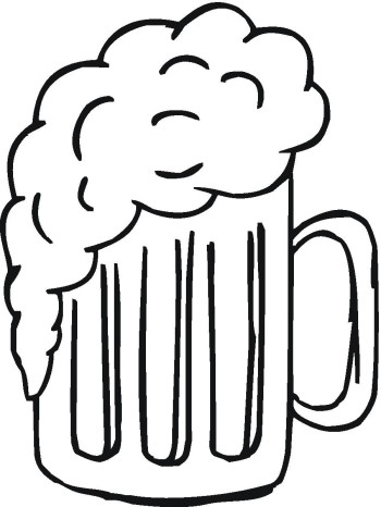 350x466 Beer Black And White Clip Art Beer Black And White Clipart Photo