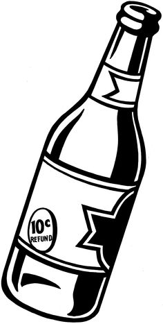 236x467 Beer Bottle Clipart Black And White 3 Nice Clip Art