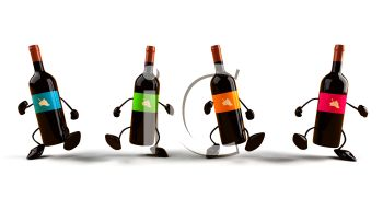 Bottle Of Wine Clipart