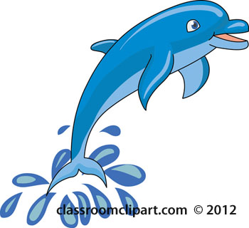 350x320 Bottlenose Dolphin Clipart Water Clipart