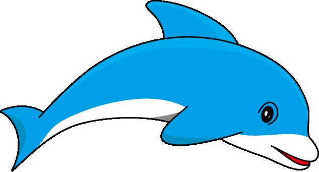 633x341 Bottlenose Dolphin Clipart Cute