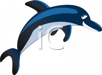 350x259 Bottlenose Dolphin Clipart Porpoise