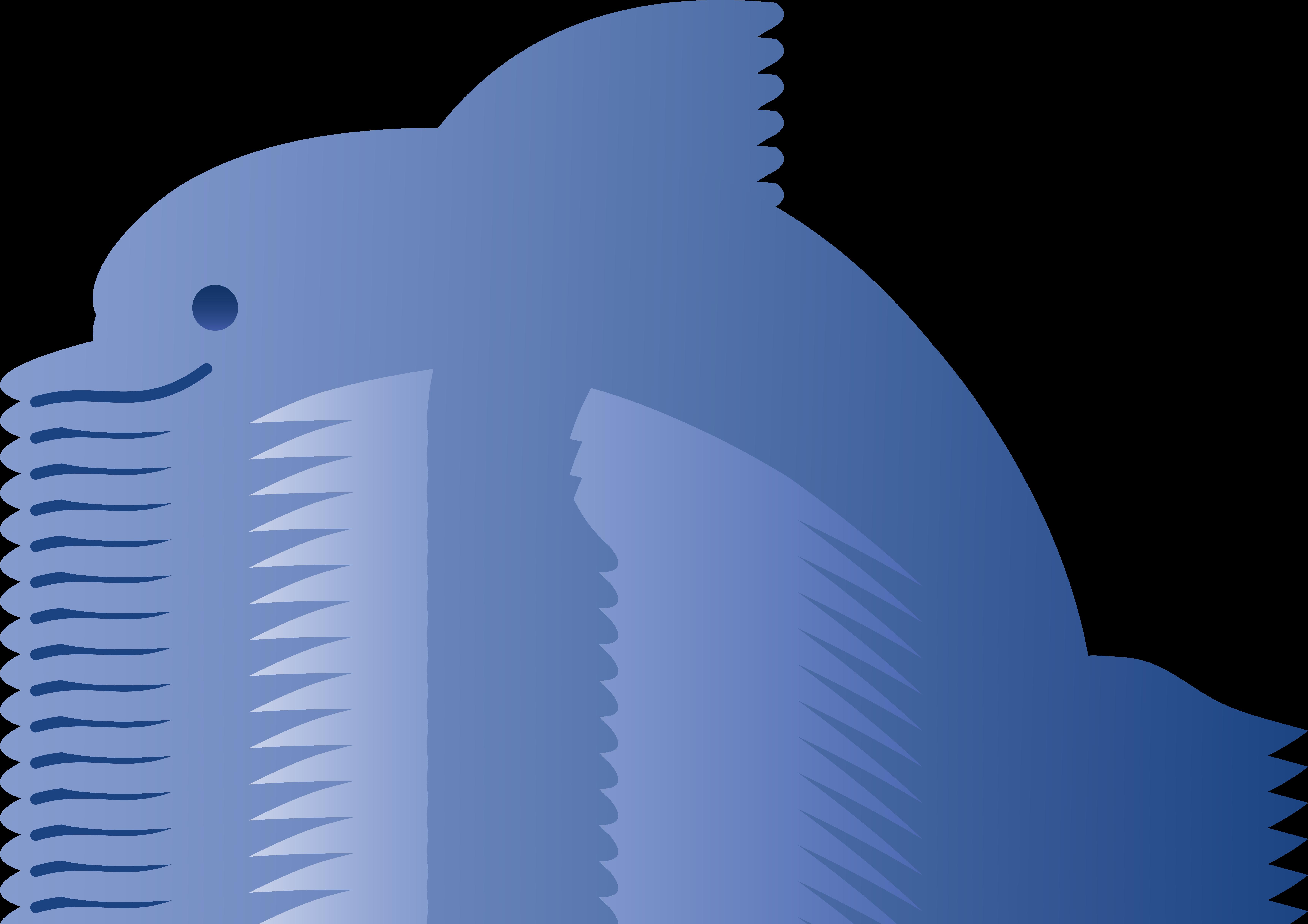 6883x4862 Cute Blue Dolphin