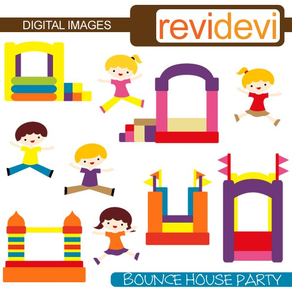 Bounce House Clipart