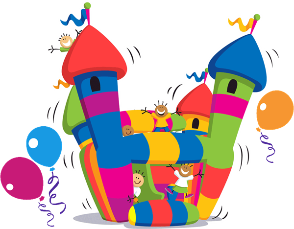 600x468 Bounce House Clip Art Cliparts