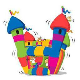 256x256 Bounce House Clipart Many Interesting Cliparts
