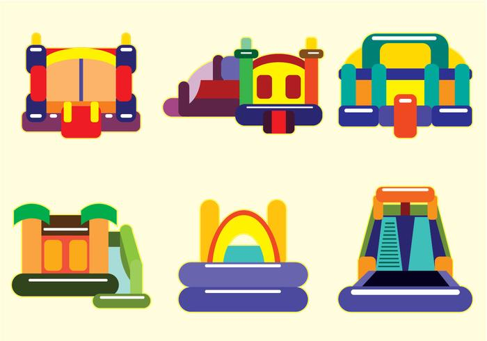 700x490 Bounce House Vector