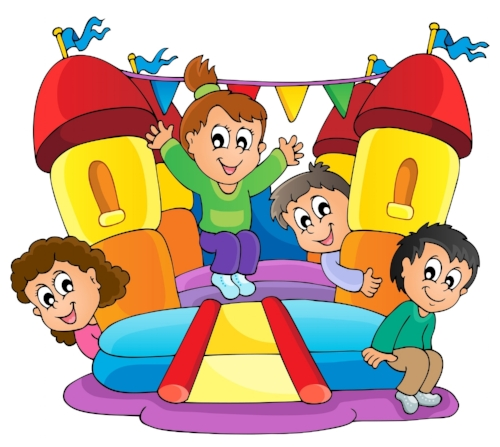 500x447 Bounce Houses, Water Slides And Inflatables